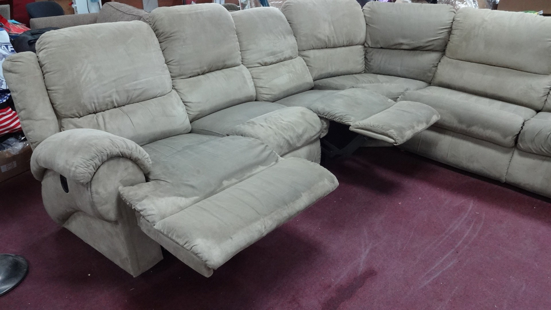 Couch & Sofa: Comfortable Lazy Boy Sectional Recliner For ...