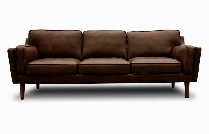 lovely mid century leather sofa picture-Latest Mid Century Leather sofa Gallery