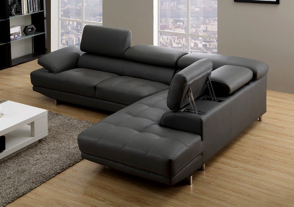lovely milan leather sofa online-Contemporary Milan Leather sofa Layout