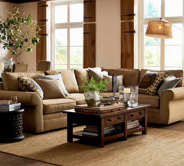 Beautiful Pottery Barn Pearce Sofa Design