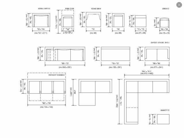 lovely sectional sofa sizes picture-Fascinating Sectional sofa Sizes Plan