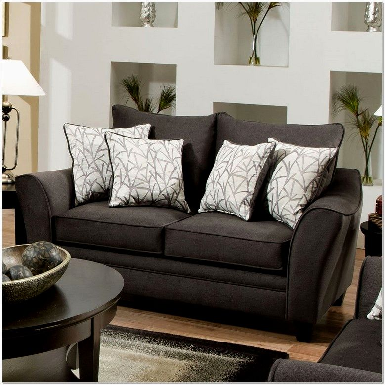 lovely simmons flannel charcoal sofa model-Beautiful Simmons Flannel Charcoal sofa Concept
