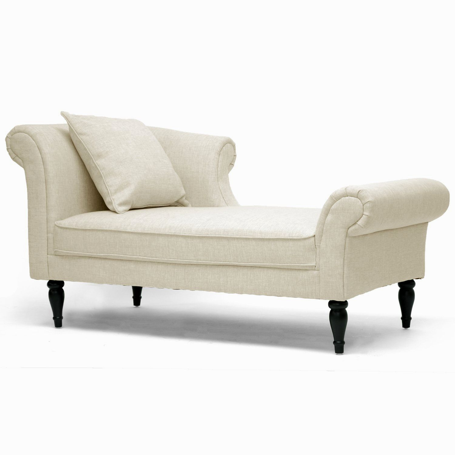 lovely small sofa with chaise image-Contemporary Small sofa with Chaise Picture