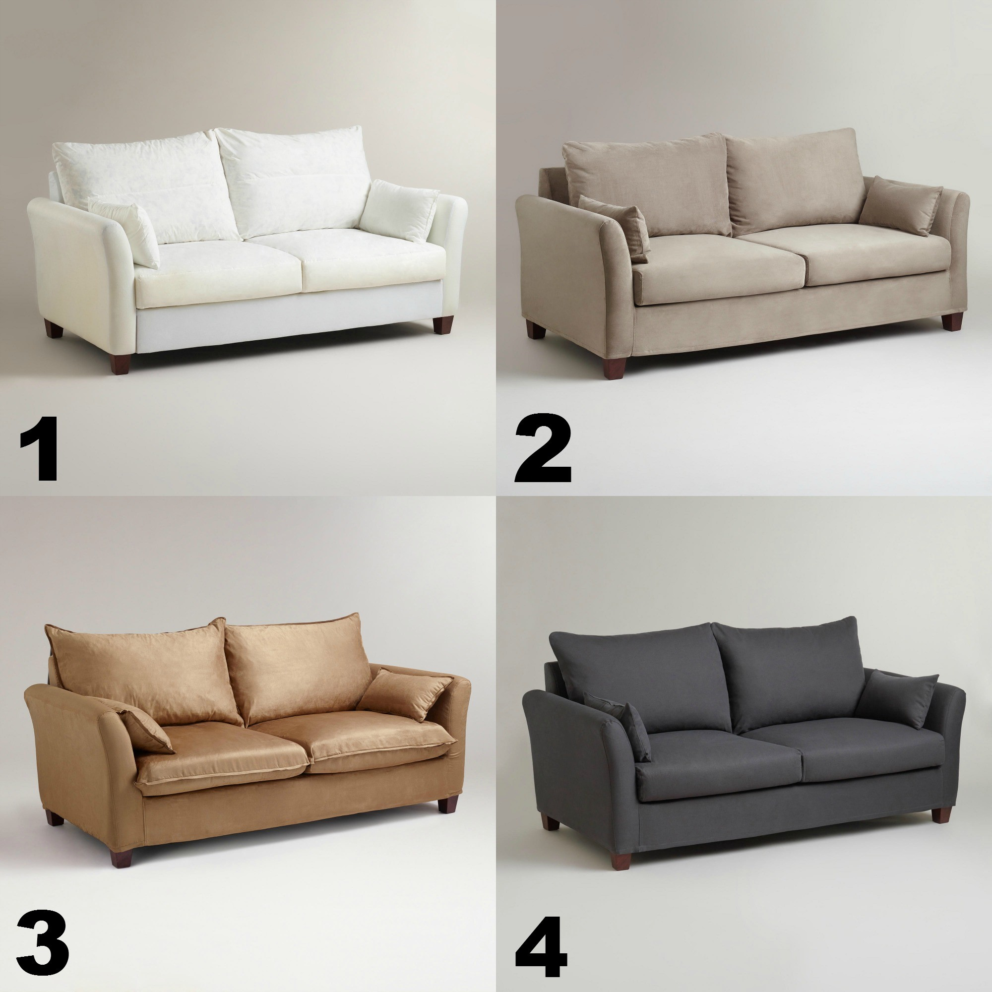 Luxe sofa Slipcover Elegant Furniture World Market 4 Piece Luxe sofa Slipcover for Awesome Online