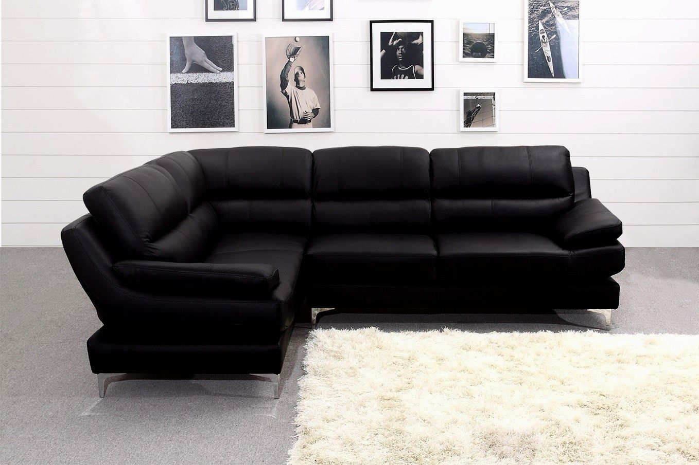 luxury black sectional sofa for cheap ideas-Elegant Black Sectional sofa for Cheap Plan