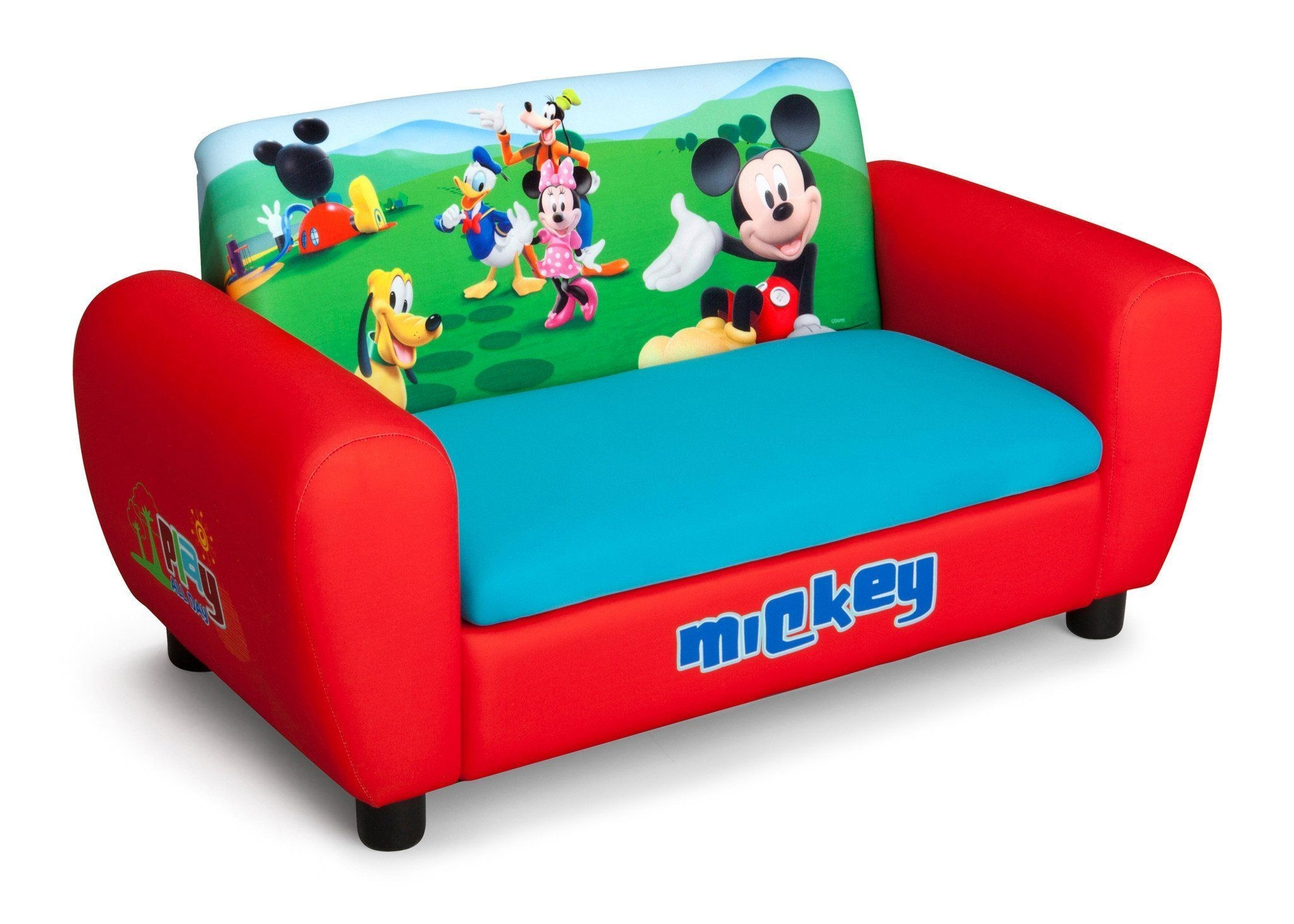Mickey Mouse sofa Incredible Mickey Mouse Upholstered sofa with Storage Ideas
