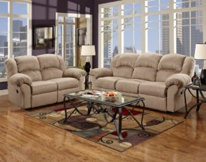 Microfiber Reclining sofa Fancy Microfiber Reclining sofa Roundhill Furniture Photograph