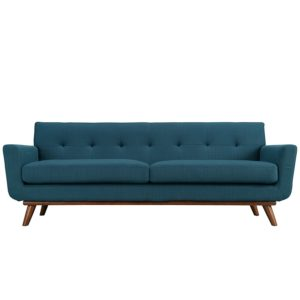 Mid Century Modern sofas Fresh Lexmod Engage Upholstered sofa Azure Amazon Home Kitchen Portrait