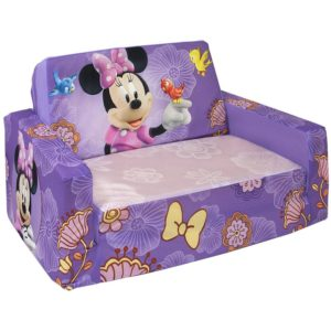 Minnie Flip Open sofa Sensational Marshmallow Flip Open sofa with Slumber Disneys Minnie Mouse Model