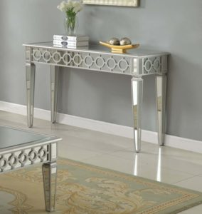 Mirrored sofa Table Fresh T sophie Silver Mirrored Living Room Hallway sofa Table Image