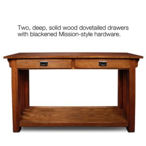 Mission sofa Table Fancy Amazon Leick Furniture Mission sofa Table Medium Oak Gallery