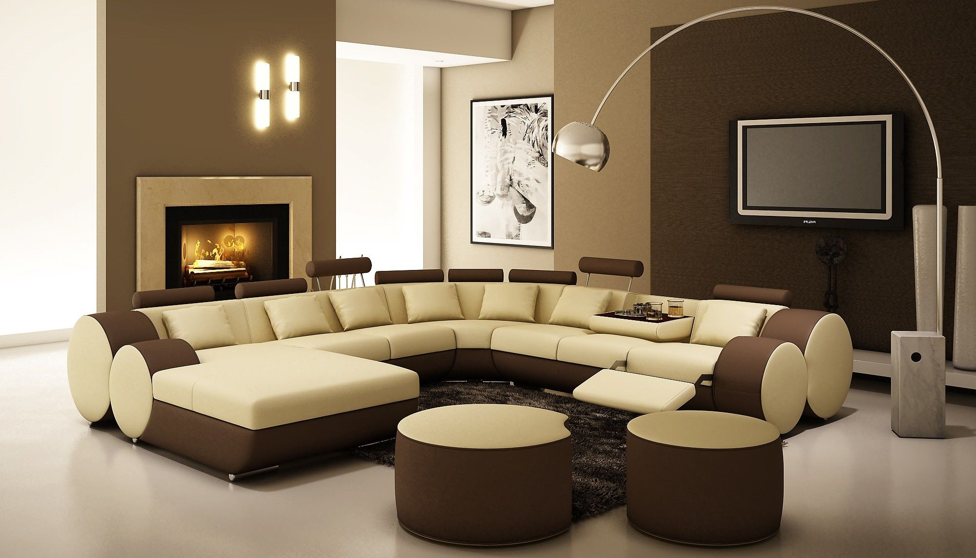 modern brown sectional sofa ideas-Elegant Brown Sectional sofa Online