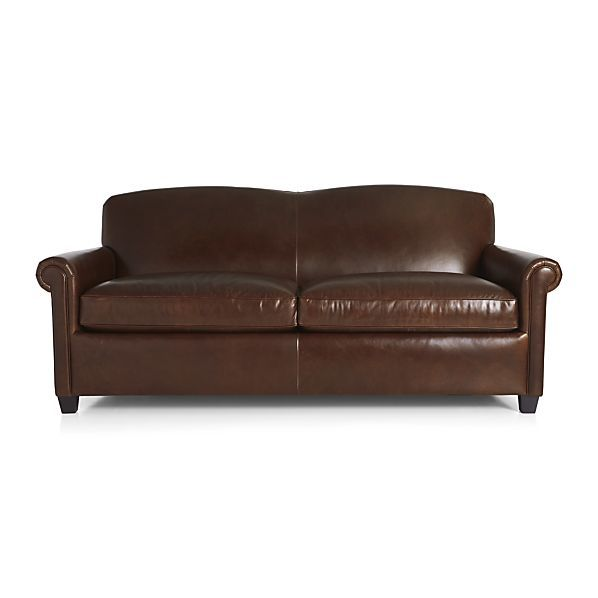 modern crate and barrel leather sofa gallery-Stunning Crate and Barrel Leather sofa Picture