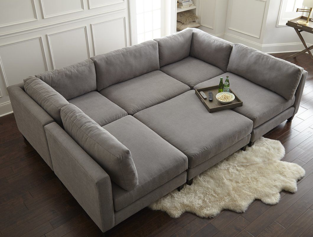 modern rustic sectional sofas image-Amazing Rustic Sectional sofas Picture