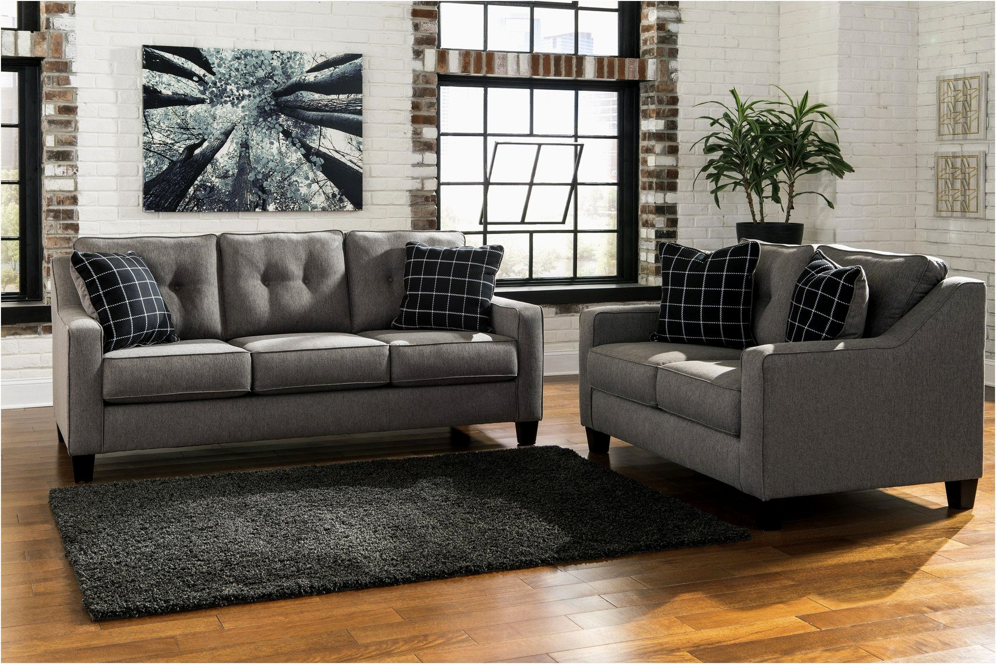 modern simmons flannel charcoal sofa picture-Beautiful Simmons Flannel Charcoal sofa Concept