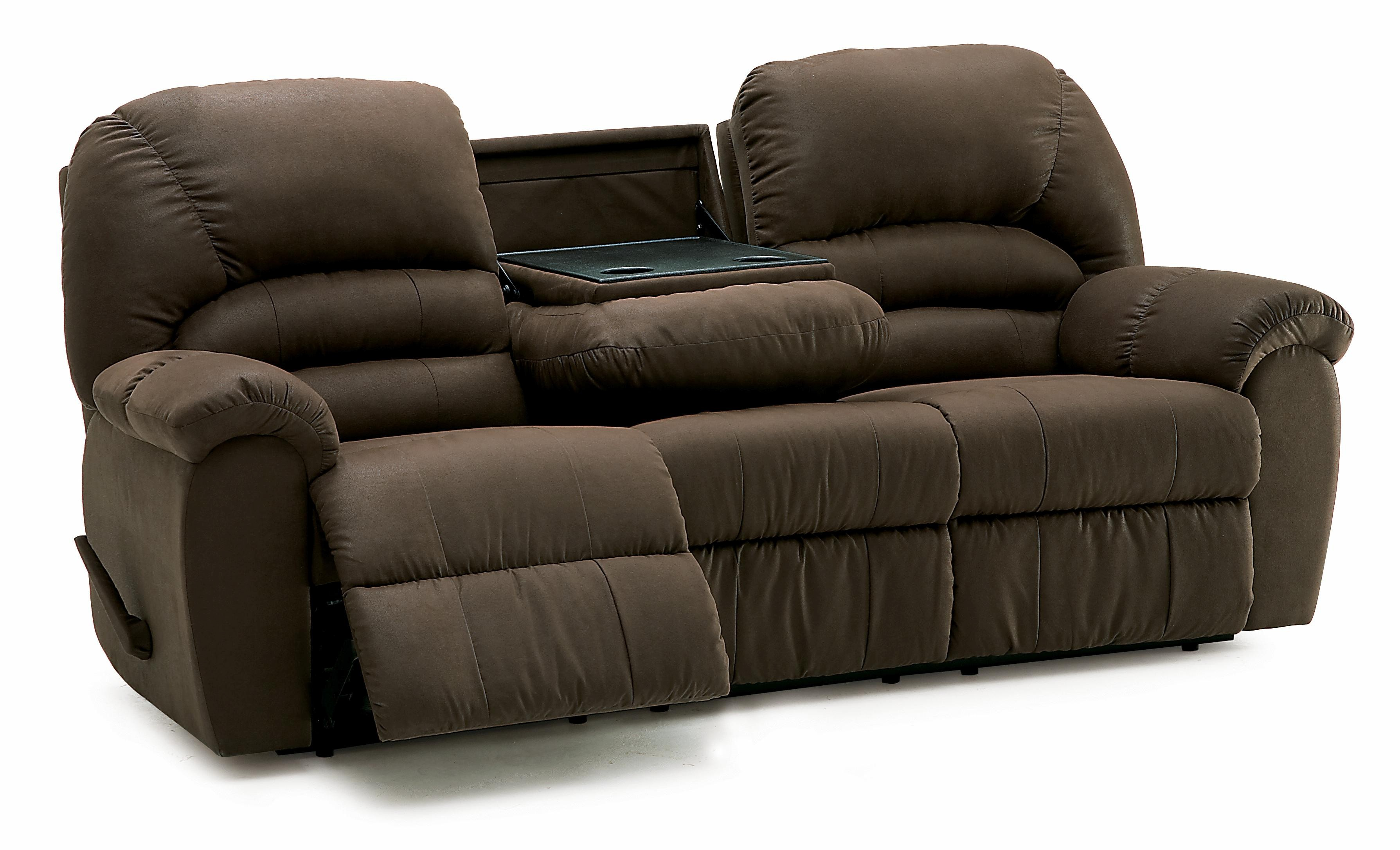 Reclining sofa with Drop Down Table Finest Palliser Taurus Casual Reclining sofa with Center Drop Down Table Plan