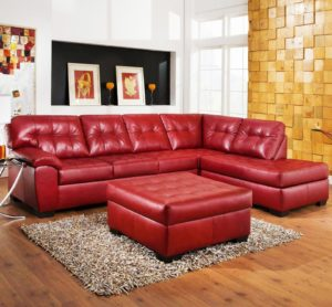 Red Leather Sectional sofa Lovely Red Leather sofa Sectional Regarding Property Decoration