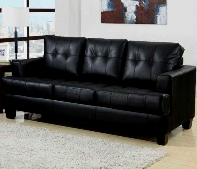 sensational black leather sofas construction-Amazing Black Leather sofas Online