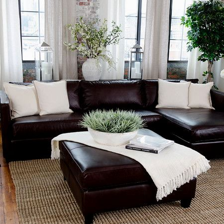 sensational dark brown sofa décor-Cool Dark Brown sofa Image
