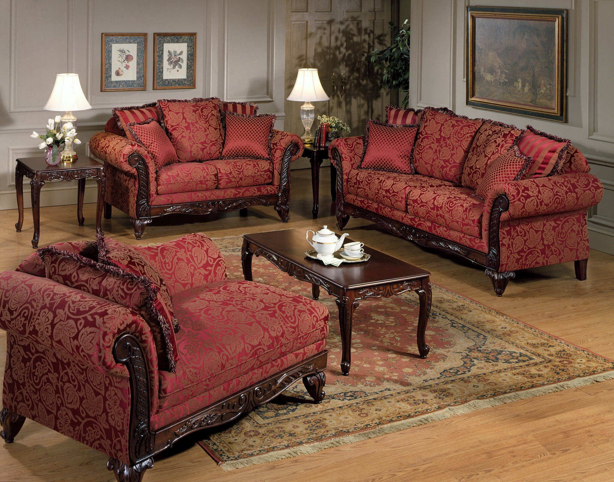 Serta sofa and Loveseat Fancy Momentum Magenta sofa and Loveseat Design