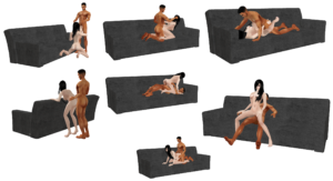 Sex sofa Positions Fantastic Imvu Black Market Construction