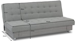 Sofa Bed Price Superb Steinar Storage sofa Bed Grey Furniture Home D Cor Decoration