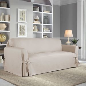 Sofa Slip Cover Awesome Perfect Fit Classic Relaxed Fit sofa Slipcover Bed Bath Beyond Architecture