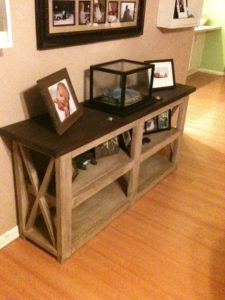 Sofa Table Plans Incredible Ana White Gallery