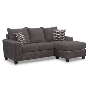 Sofas with Chaise Elegant Brando sofa with Chaise Smoke Image