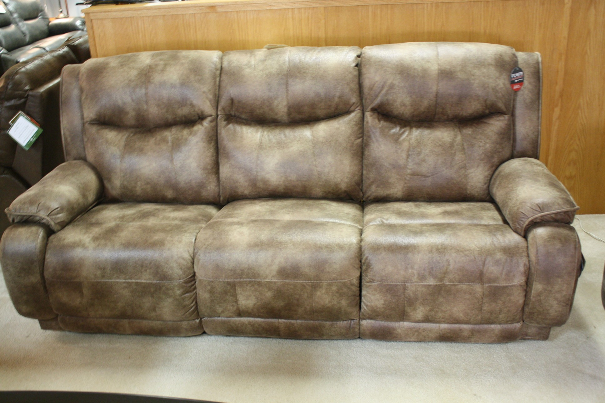Southern Motion Reclining sofa Lovely southern Motion Velocity Double Reclining Power sofaloveseat Decoration