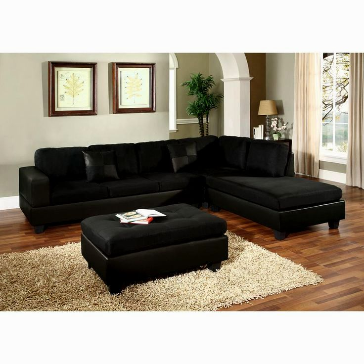 stunning black sectional sofas construction-Cute Black Sectional sofas Concept