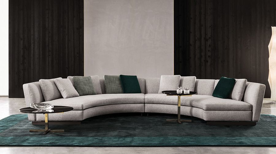 stunning leather contemporary sofa picture-Luxury Leather Contemporary sofa Model