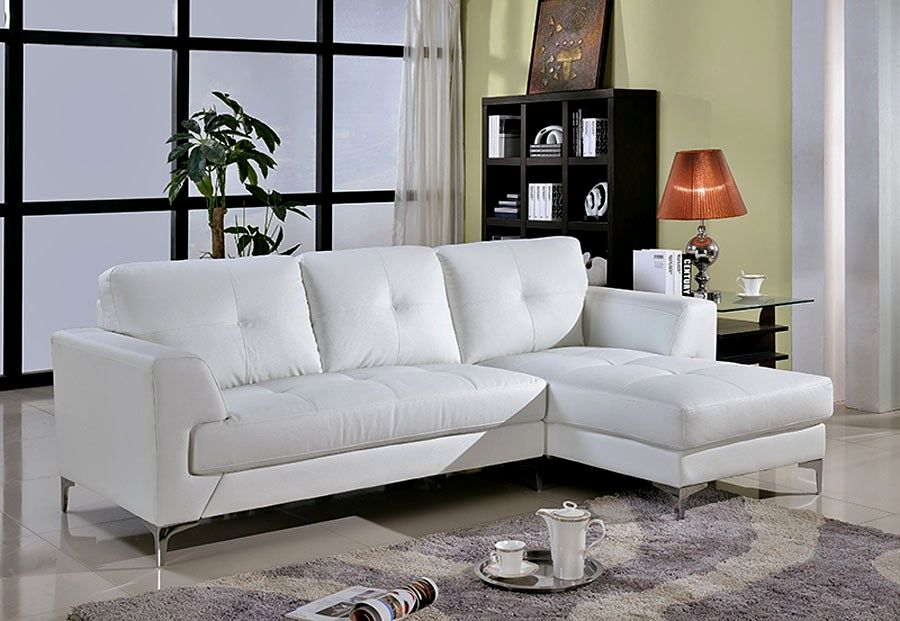 stunning sectional leather sofa image-Stylish Sectional Leather sofa Image