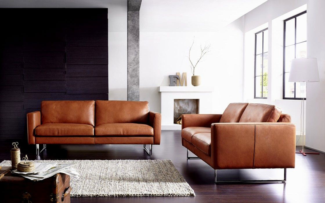 stylish camel leather sofa image-Stunning Camel Leather sofa Construction