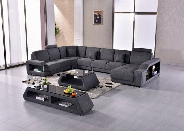 stylish grey sectional sofas online-Incredible Grey Sectional sofas Layout