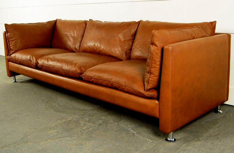 stylish mid century leather sofa picture-Latest Mid Century Leather sofa Gallery