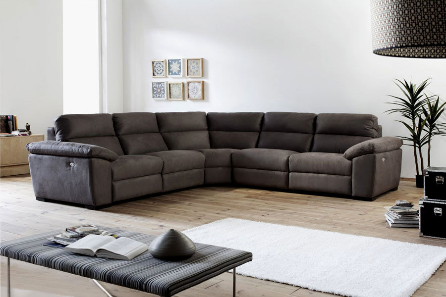stylish recliner sectional sofa gallery-Wonderful Recliner Sectional sofa Plan