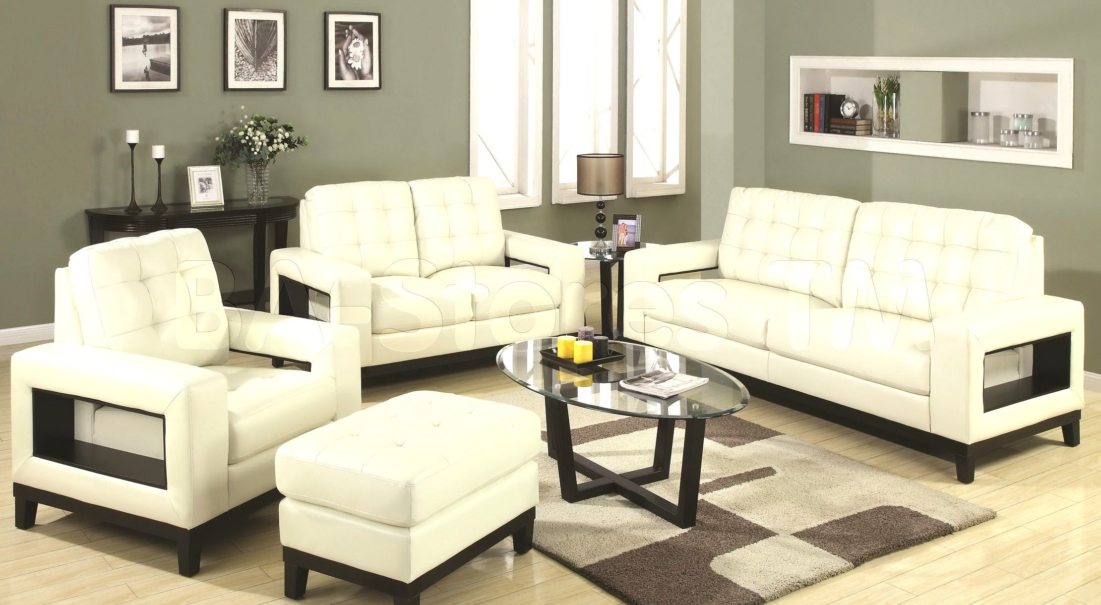 stylish serta sofa and loveseat design-Contemporary Serta sofa and Loveseat Picture