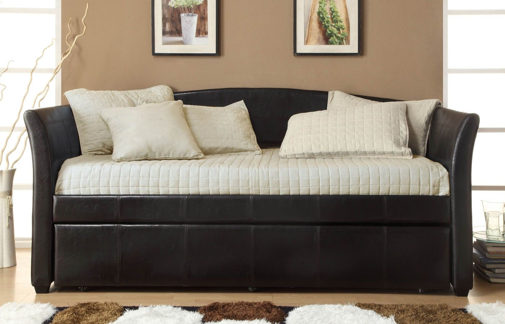 stylish sofa bed with trundle photo-Beautiful sofa Bed with Trundle Collection