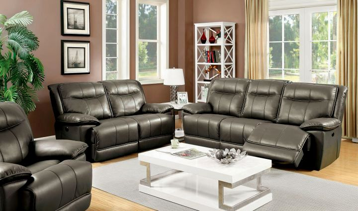 stylish top grain leather reclining sofa collection-Fantastic top Grain Leather Reclining sofa Photograph