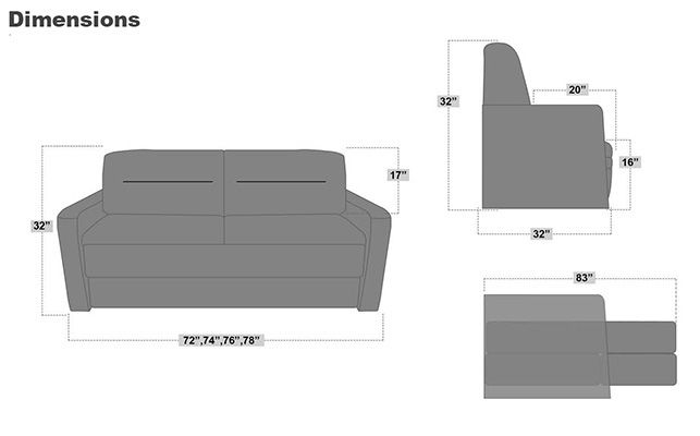 superb 72 inch sleeper sofa picture-Stylish 72 Inch Sleeper sofa Layout