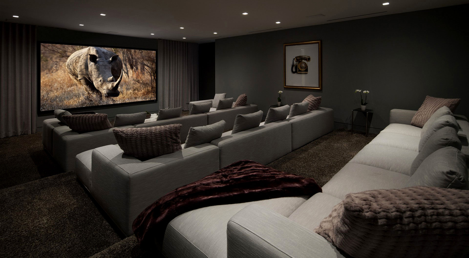 superb big sectional sofas photo-Stylish Big Sectional sofas Layout