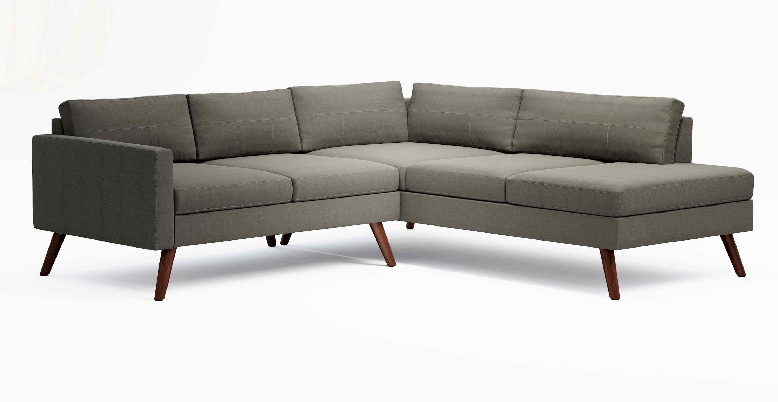 superb small sofa with chaise design-Contemporary Small sofa with Chaise Picture