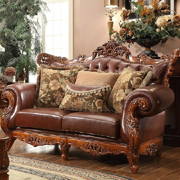 terrific leather and wood sofa photograph-New Leather and Wood sofa Gallery