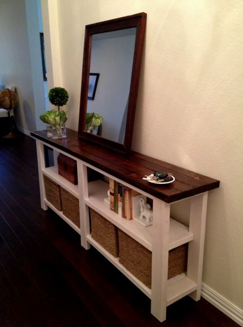terrific skinny sofa table décor-Modern Skinny sofa Table Plan