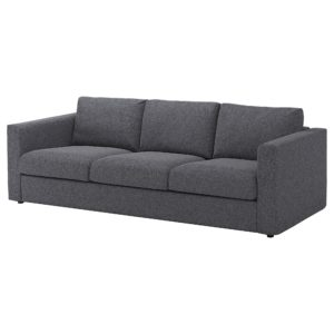 Three Seater sofa Unique Vimle 3 Seat sofa Gunnared Medium Grey Ikea Ideas