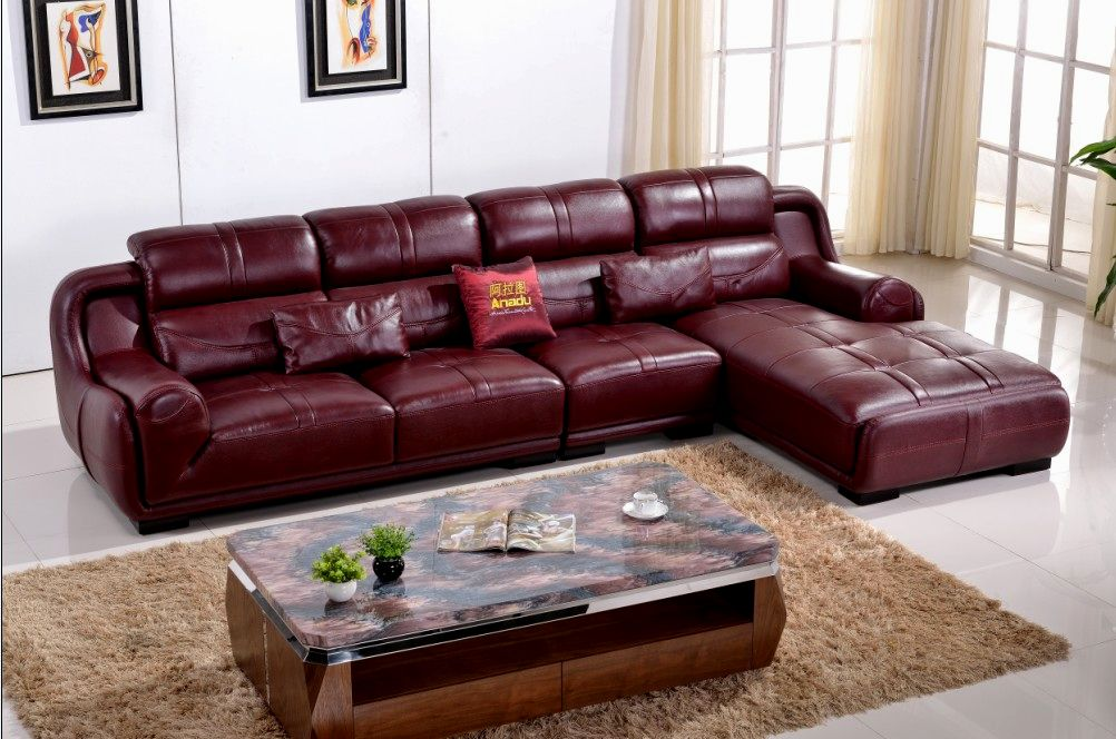 top colored leather sofas design-Unique Colored Leather sofas Pattern