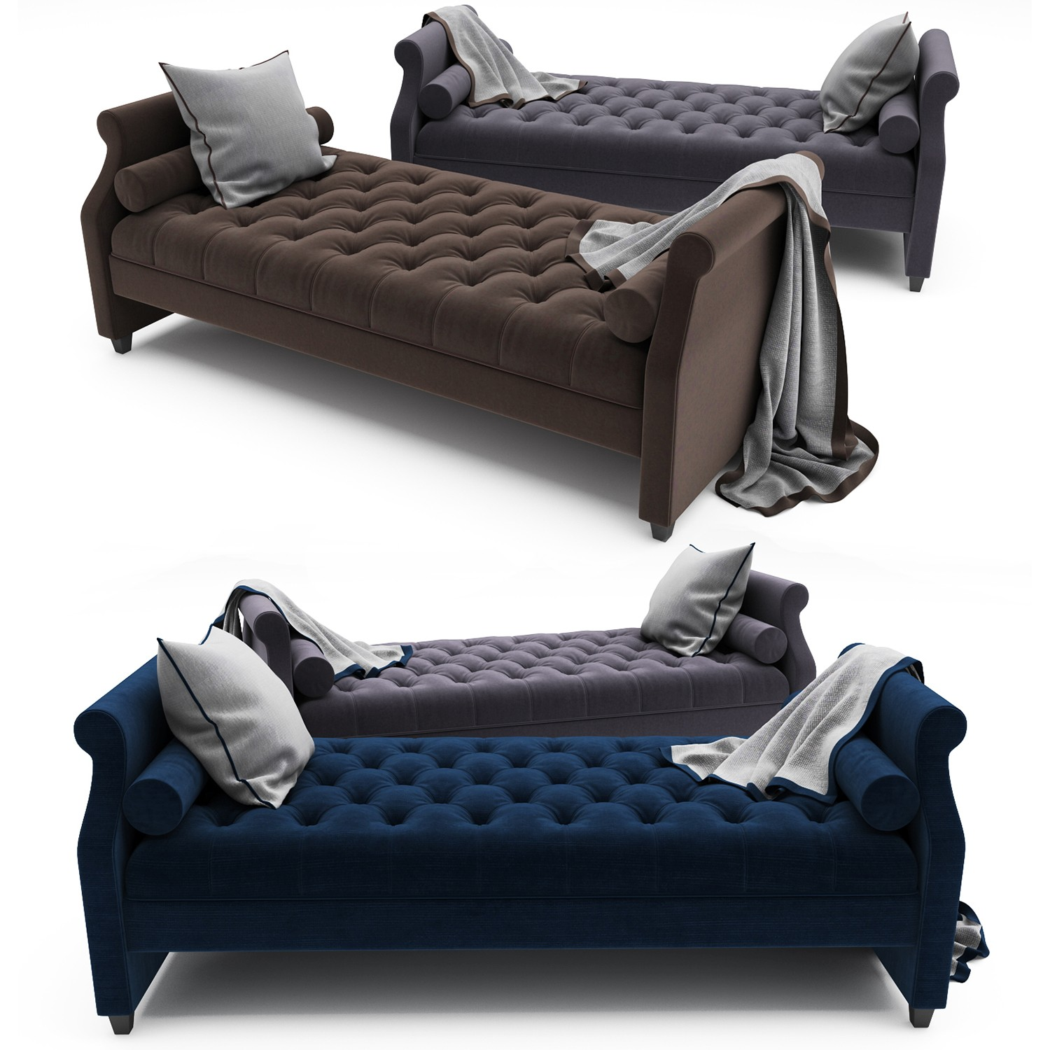 Tufted sofa Bed Stunning Tufted sofa Bed by Doannguyen Architecture