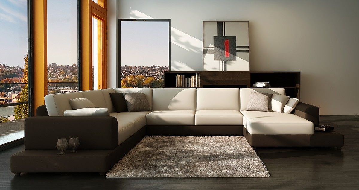 unique contemporary sectional sofa décor-Modern Contemporary Sectional sofa Layout