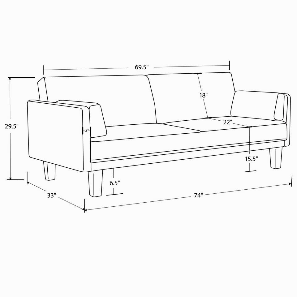 unique futon sofa sleeper architecture-Contemporary Futon sofa Sleeper Concept